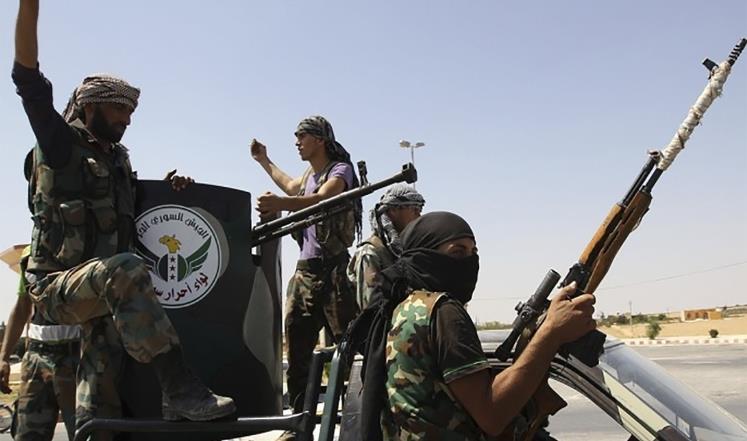 صورة المعارضة تشكل الجبهة الوطنية لتحرير سوريا