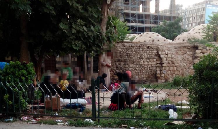 صورة حدائق دمشق..منازل للنازحيين