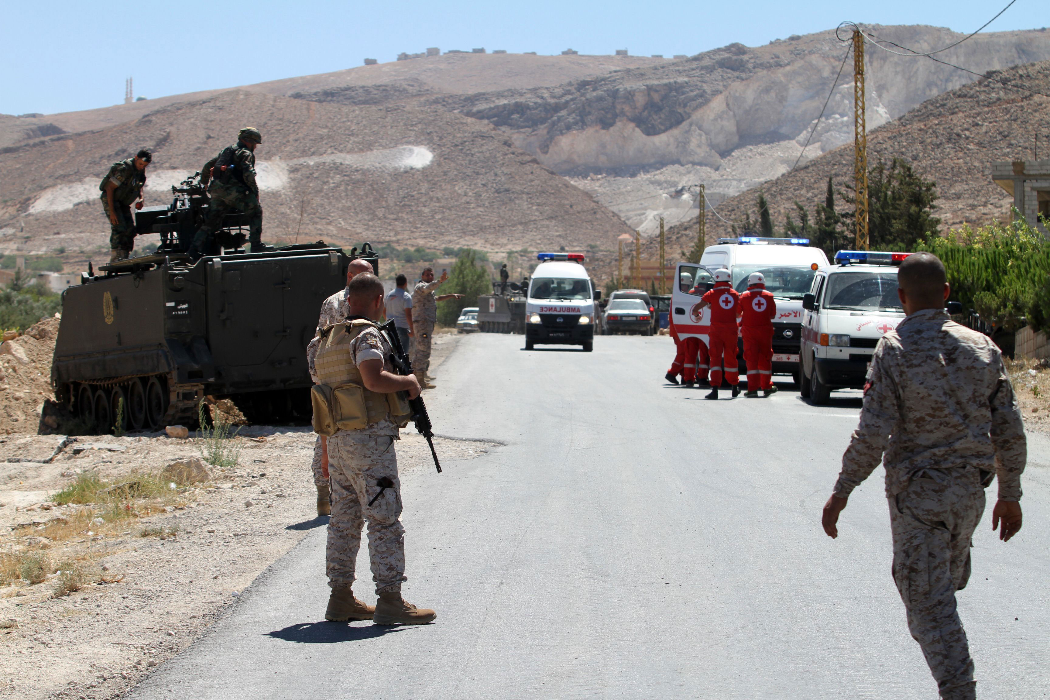 """صورة بعد """"النصرة"""" حرب عرسال تتجه نحو تنظيم """"الدولة"""""""