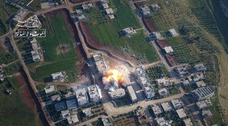 صورة مقتل 7 عناصر للأسد بمعارك درعا
