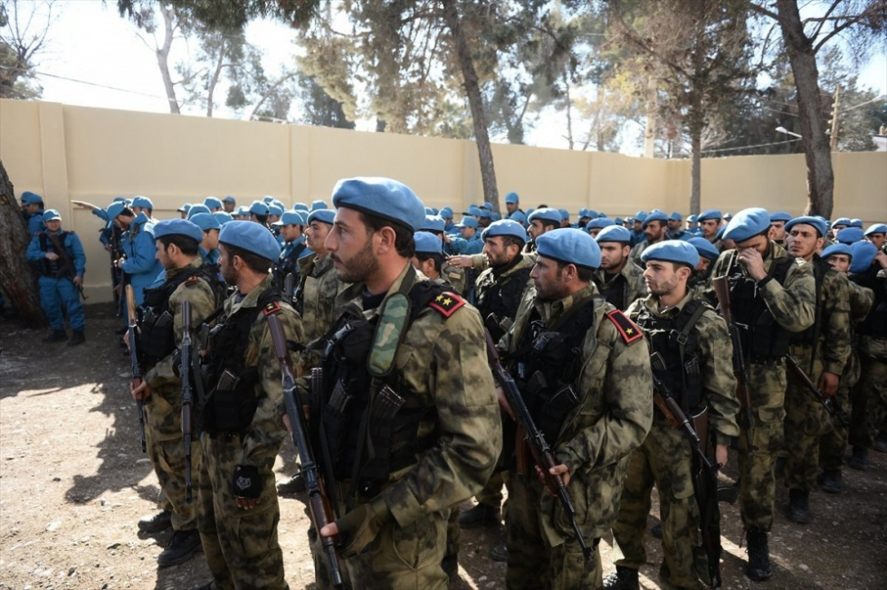 صورة لأول مرة..كادر نسائي ضمن شرطة جرابلس الحرة