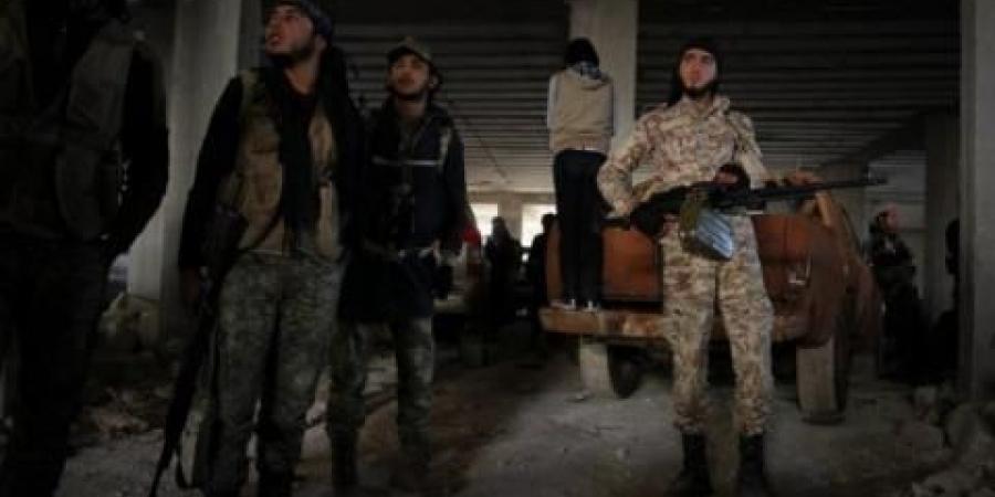 """صورة اعتقال أمني تنظيم """"الدولة"""" في إدلب"""