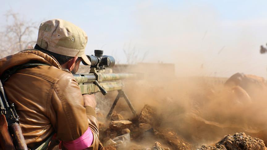 """صورة تنظيم """"الدولة"""" يتقدم نحو الحدود السورية العراقية"""
