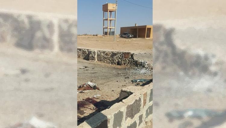 """صورة انتحاري يهاجم اجتماعا لـ """"تحرير وأحرار"""" الشام"""