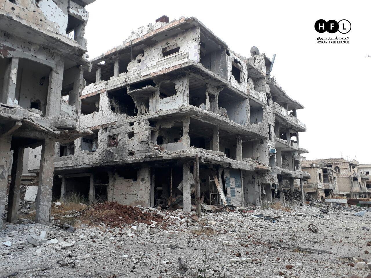 صورة الأسد يخرق الاتفاق الدولي ويهاجم درعا
