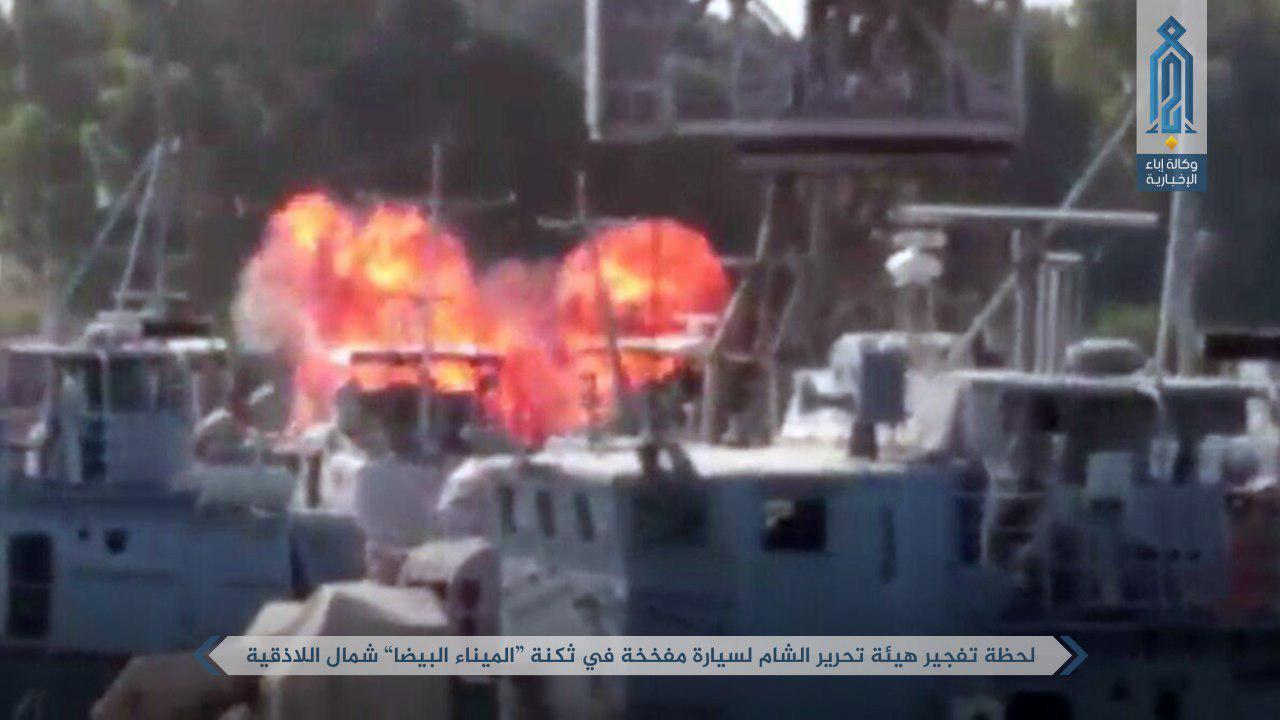 """صورة """"تحرير الشام"""" تتبنى هجوم الساحل"""