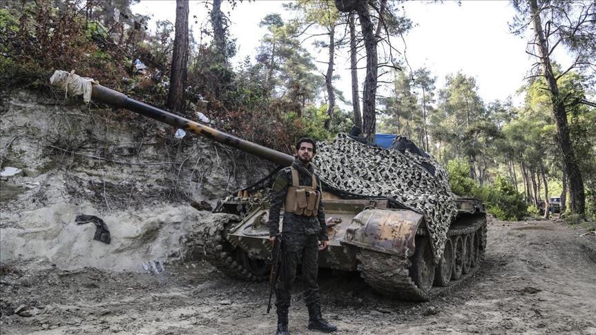 صورة نجا من الموت 5 مرات..تركماني يواصل نضاله ضد الأسد