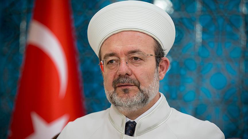 """صورة """"غورماز"""" يتقاعد من رئاسة الشؤون الدينية التركية"""