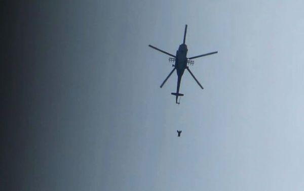 صورة طائرات الأسد ألقت 4476 برميل متفجر منذ 2017