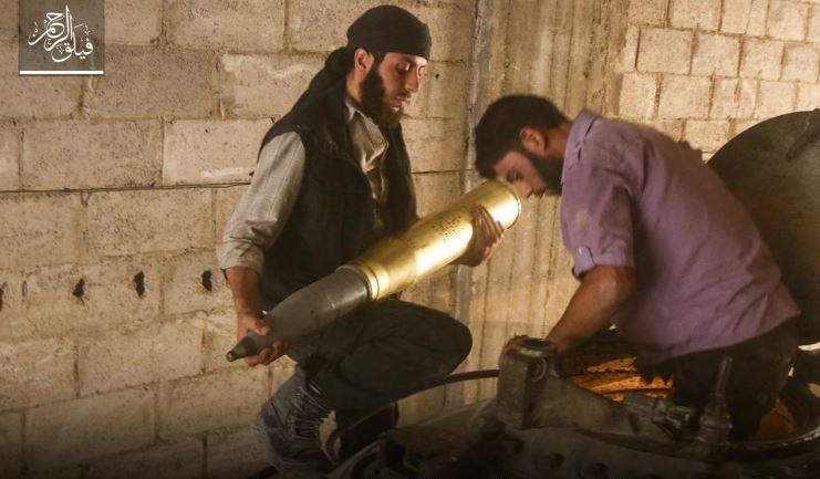 صورة استدرجهم لكمين محكم..الحر يردي 20 عنصراً من فرقة ماهر الأسد