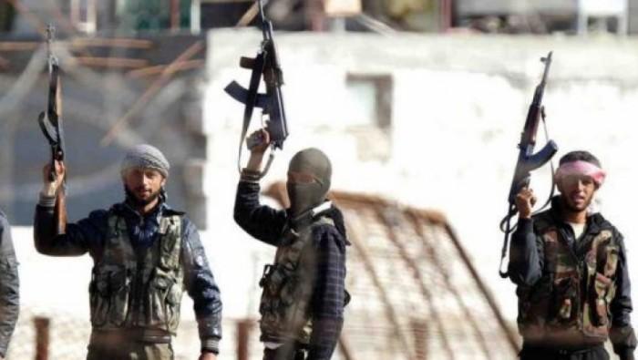 صورة ضبط خلية تختطف مقاتلي المعارضة وتسلمهم لنظام الأسد