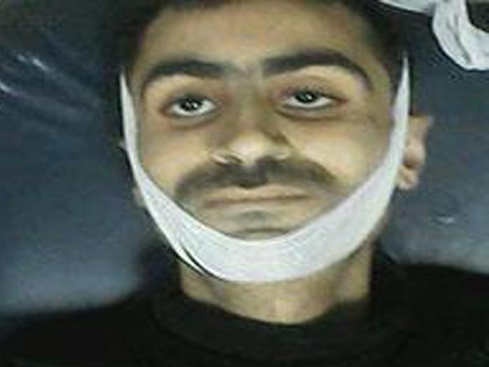 صورة قضاء لاجئ فلسطيني تعذيبا في سجون الأسد