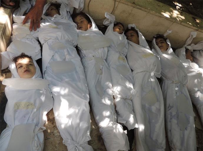صورة 36 فلسطيني من ضحايا كيماوي ريف دمشق