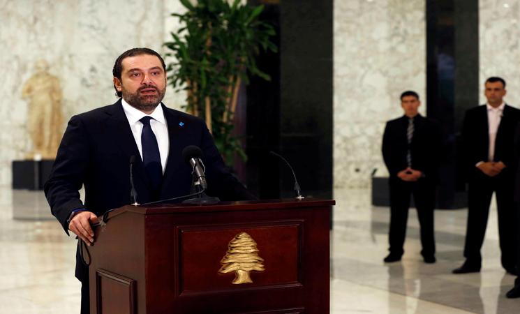صورة وزيران لبنانيان يزوران الأسد..والحريري يعقب