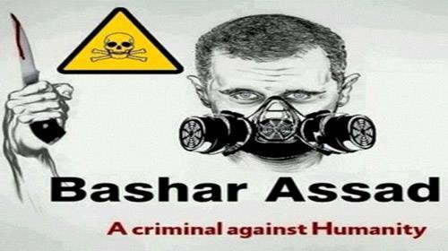 صورة الأسد عرقل لجنة مفتشي الكيماوي والمجتمع الدولي تقاعس