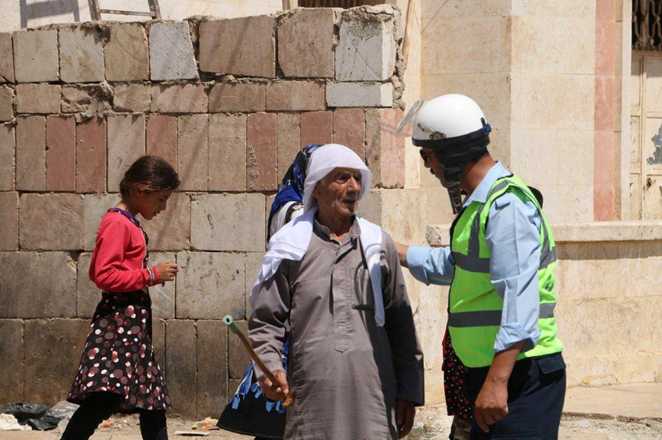"""صورة أحمد..مثال رائع لـ""""الشرطي"""" الغيور على وطنه"""
