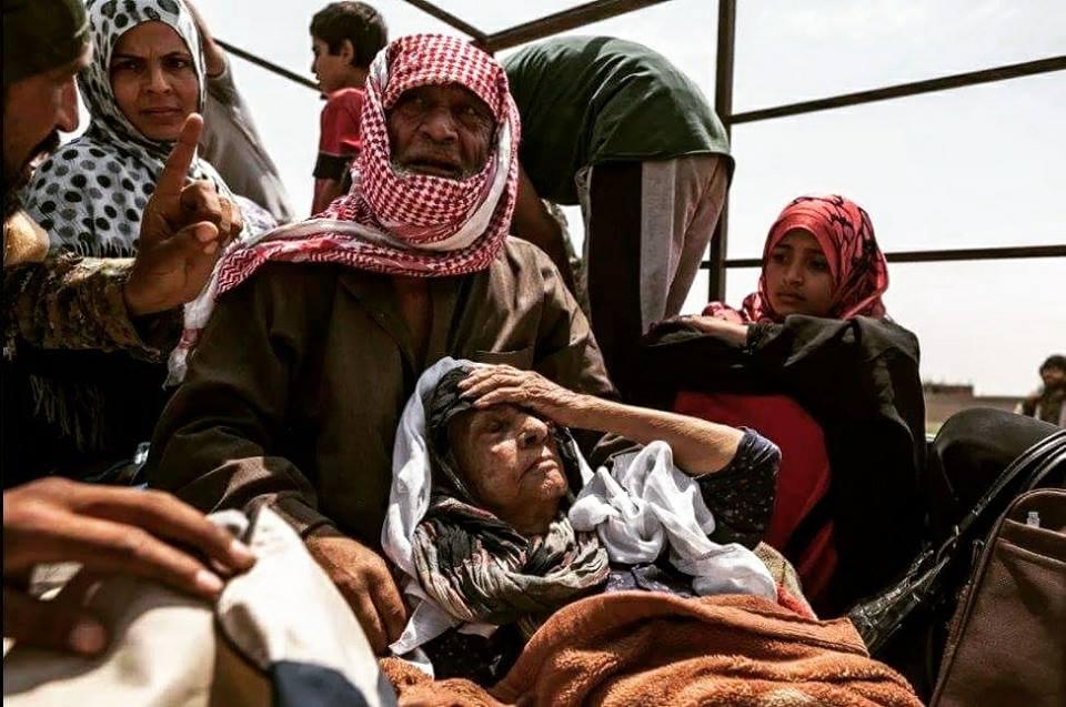 صورة مقتل 946 مدني خلال شهرين..احصائيات مرعبة لانتهاكات التحالف وقسد بالرقة