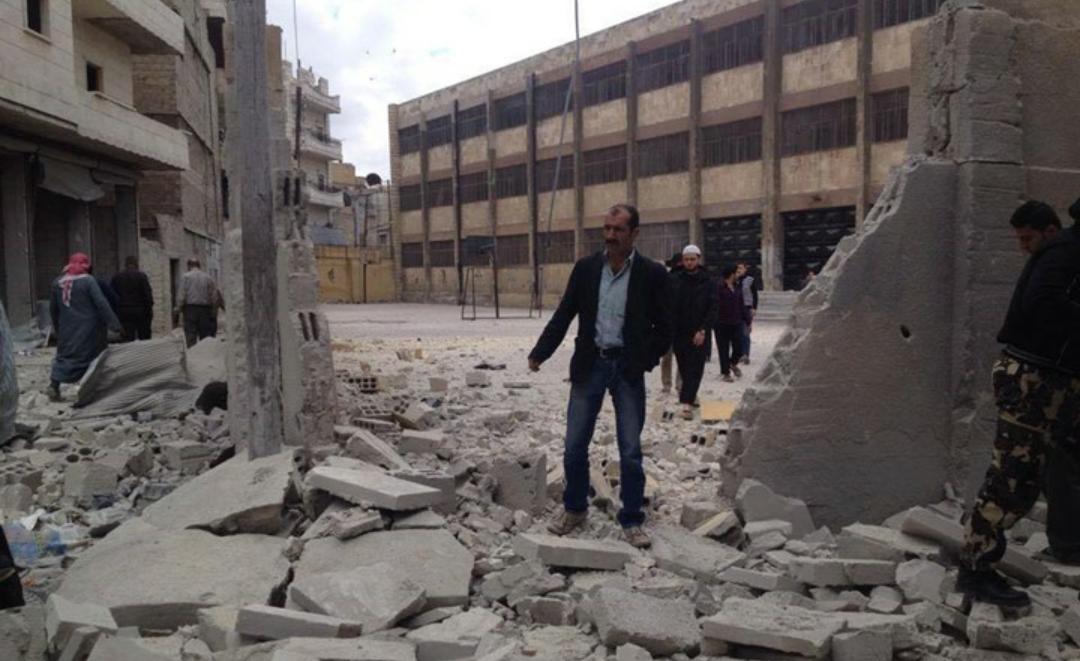 صورة النظام السوري خرق اتفاق الجنوب 136 مرة!