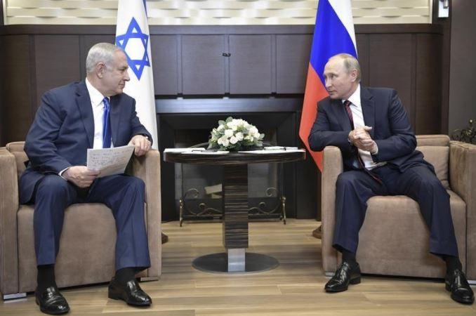 صورة نتنياهو: إسرائيل قد تتحرك لكبح نفوذ إيران بسوريا