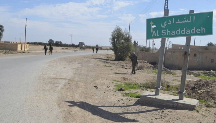 """صورة تنظيم الدولة يهاجم المربع الأخضر الأمريكي بـ""""الحسكة"""""""