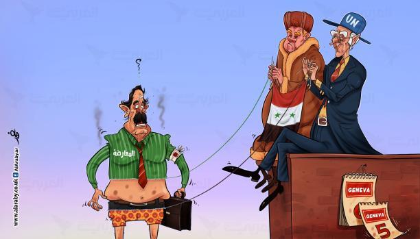 صورة كيلة: على المعارضة السورية الرحيل