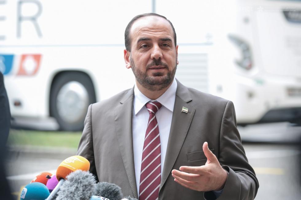 صورة الحريري: الانتقال السياسي لا يكتمل إلا برحيل الأسد