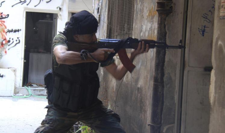 صورة معارك بين تنظيم الدولة وتحرير الشام جنوب دمشق