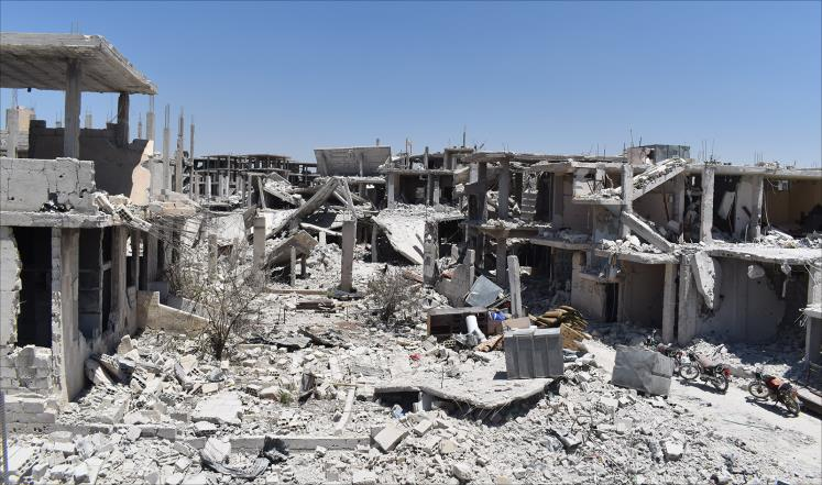 صورة كيف تبدو الأوضاع جنوب سوريا بعد شهر من الهدنة؟