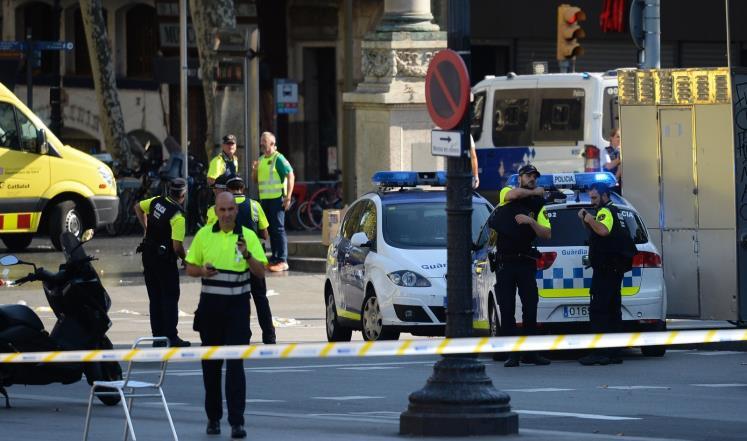 صورة تنظيم الدولة يتنبى..13 قتيلا بدعس في برشلونة
