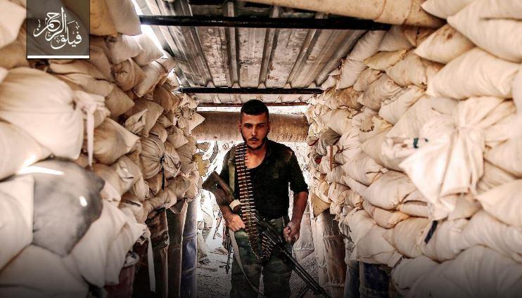صورة فيلق الرحمن ينفي علمه بهدنة الغوطة