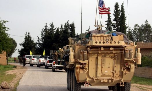 صورة المواجهة الأولى للمعارضة مع قوات أمريكية
