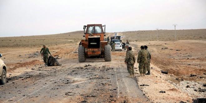 """صورة تنظيم الدولة ينفذ هجوما واسعا على جبهة """"خناصر"""""""