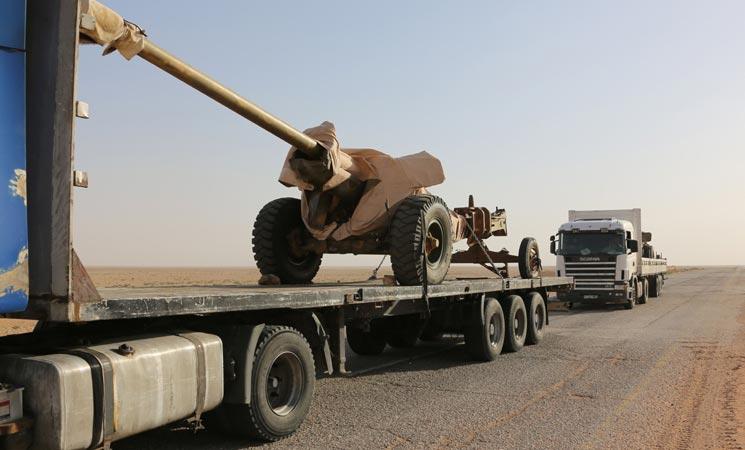 صورة الأسد يسيطر على محور حدود مع الأردن..وعمان تصرح