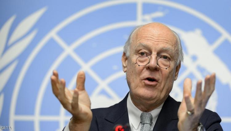 صورة دي ميستورا: تحولات نوعية للحل بسوريا مطلع أيلول