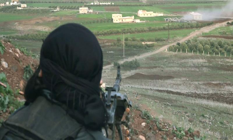صورة مقتل ثلاثة من قياديي جيش خالد بدرعا