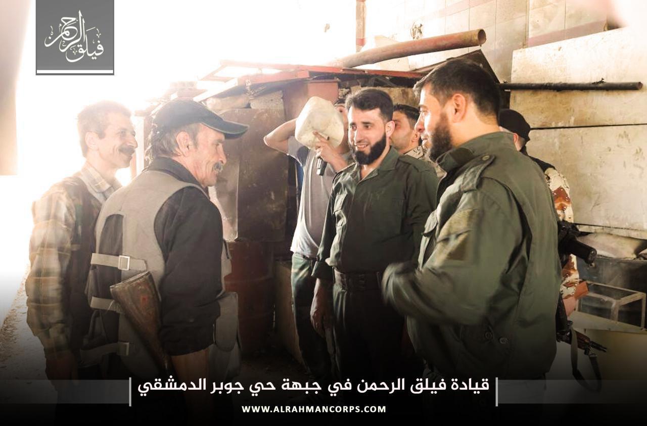 صورة الغوطة وجوبر تنضمان لمناطق خفض التصعيد