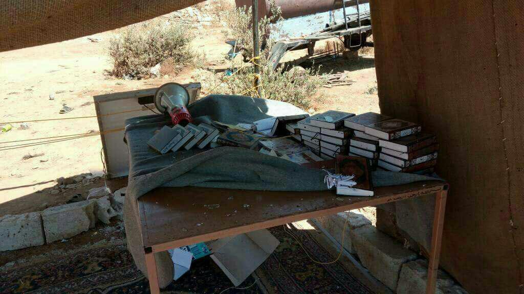 صورة جيش خالد يتبنى تفجير معسكر للمعارضة