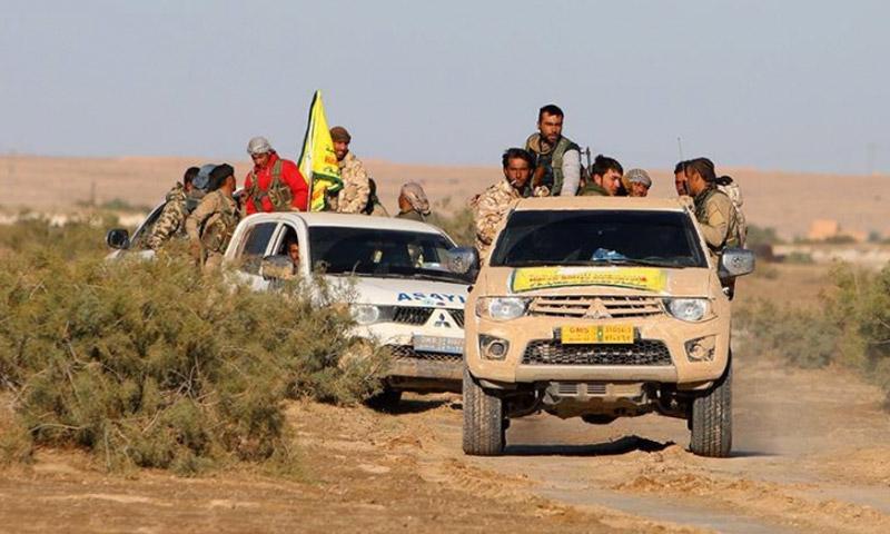 صورة قسد تعذب وتعدم العديد من المدنيين