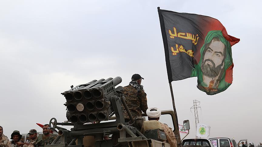 صورة الحشد الشيعي: لولانا لسقط الأسد