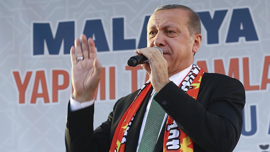صورة أردوغان: عازمون على توسعة مناطق درع الفرات