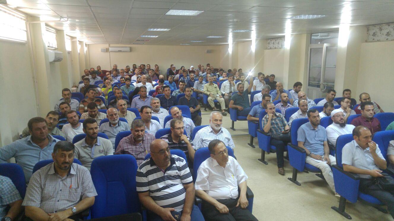 صورة مشروع تدريبي لـ1200 مدرس بمناطق درع الفرات