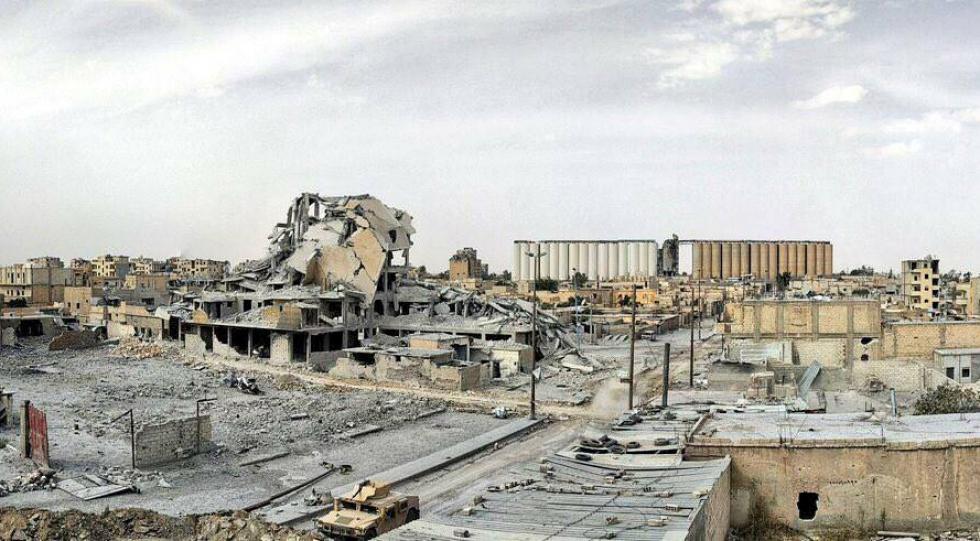 صورة منظمة: التحالف قتل 84 مدني بالرقة بينهم 30 طفل