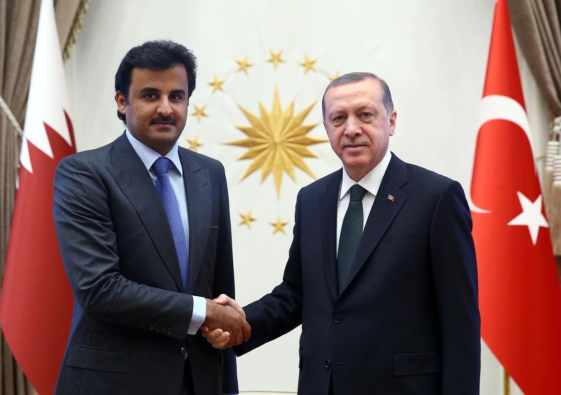 صورة أمير قطر يزور تركيا الجمعة