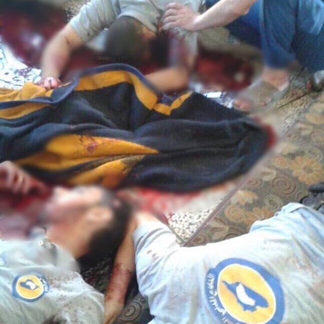 """صورة القبض على قتلة """"الدفاع المدني"""" بإدلب"""