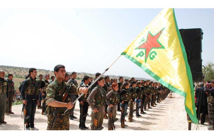 صورة أكراد سوريا يتوجهون لصناديق الاقتراع وسط تحذيرات عشائرية وقبلية