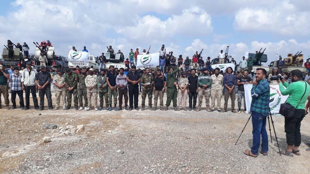 صورة الجبهة الوطنية لتحرير سوريا تقلب الموازين في معبر نصيب