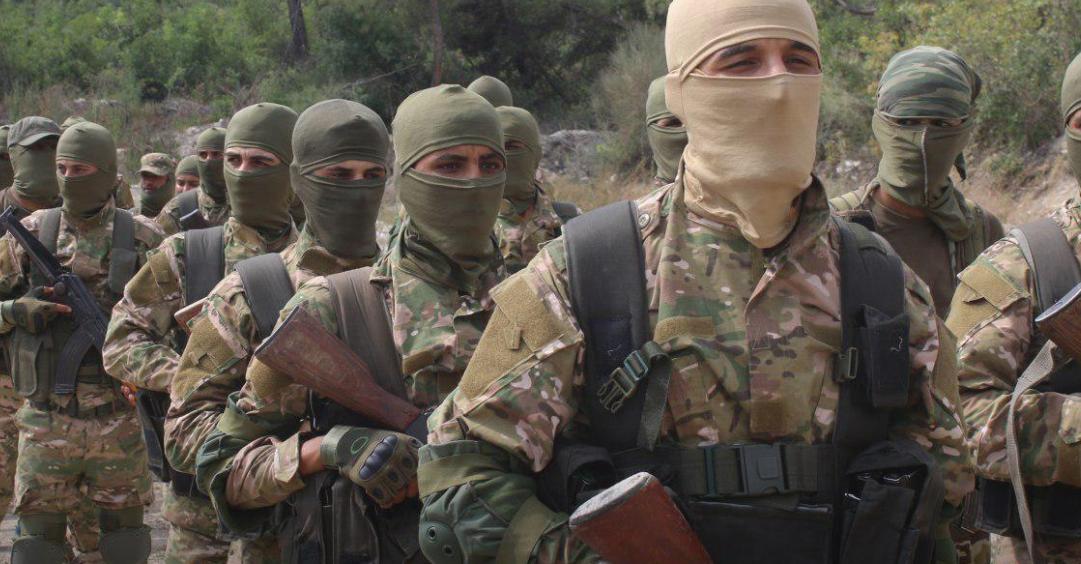 صورة تحرير الشام تقتل 14 عنصرا للنظام بحلب