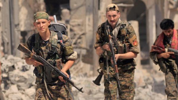 صورة روسيا: قوات قسد بايعت تنظيم الدولة!