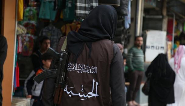 صورة مصادر: فرار قيادي بازر من تنظيم الدولة