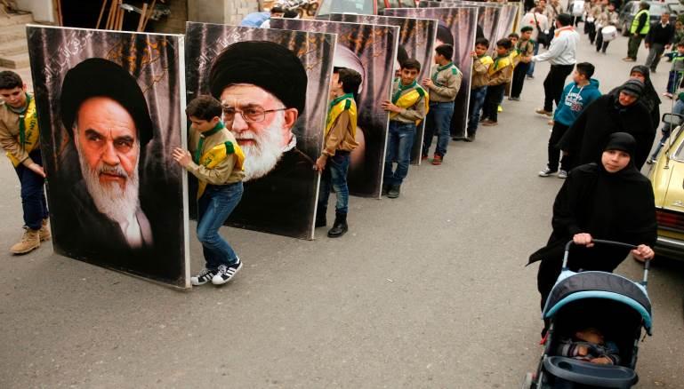 صورة قواعد إيرانية طويلة الأمد في سوريا